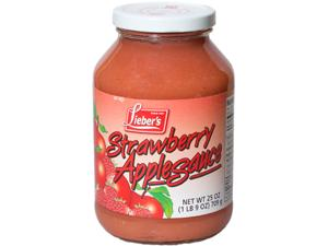 Apple Sauce-Strawberry