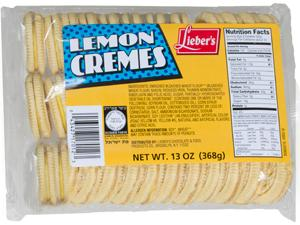 Duplex Lemon Cookies