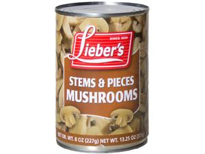 Mushrooms Pieces & Stems
