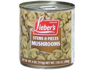 Mushrooms Pieces & Stems - Small