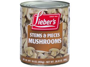 Mushrooms Pieces & Stems Very Large