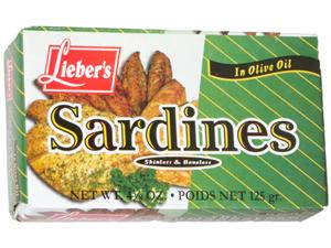 Sardines Skinless/Boneless in Olive Oil