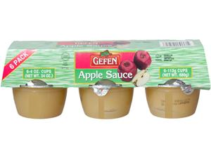 Mini Apple Sauce - sweet.