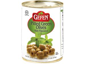 Pitted Olives in Tins