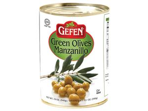 Green Manzanillo Olives