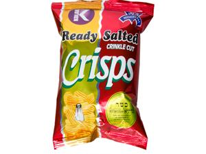"Crisps - "" LOW FAT """