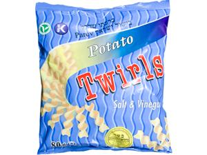 Twirls Salt & Vinegar - Large