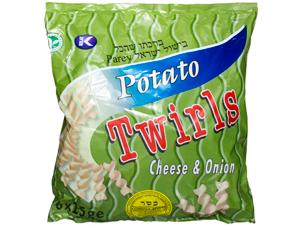 Twirls Cheese & Onion 6-pack